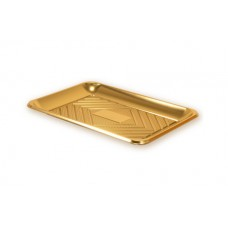 Gold Rectangular Deep Platter 29x21cm