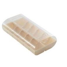 White Macaroon Box: 12 Macaroons