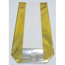 """Large Gold Strips"" Cello Bags"