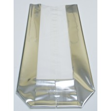 """Large Silver Strip"" Cello Bags"