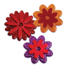 Autumnal Flower Rings Asst.