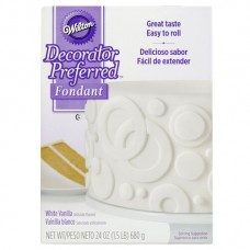 White Wilton Fondant 24oz