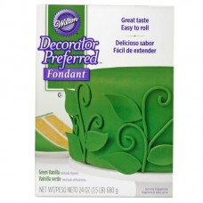 Wilton Green Fondant 24oz