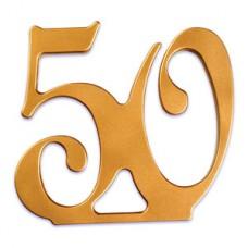 50th wedding anniversary ornement