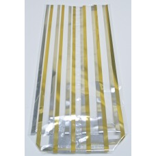 """Gold Strips"" Cello Bags"