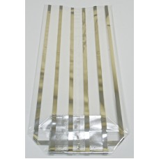 """Silver Strips"" Cello Bags"
