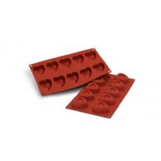 Savarin Heart - Silicone  Mold Silikomart