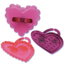 Heart Jewel Rings