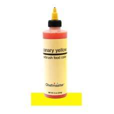 Canary yellow airbrush color