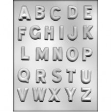 Alphabet - Chocolate Mold