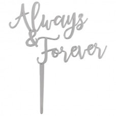 Always & Forever Ornament Silver
