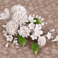 Carnation Sprays - White