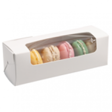 Box for 6 Macaroons with Window