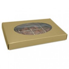 Gold Box with Oval Window 1/2lb