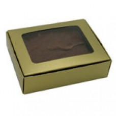 Gold Box with Window 1/4 lb