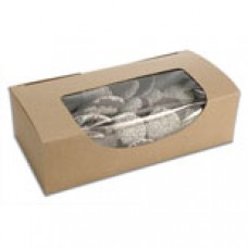 Kraft Box with Window 1lb