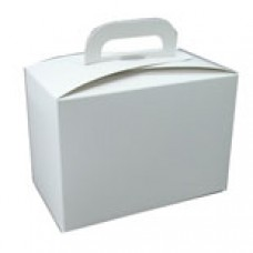 Large White Box with Handle