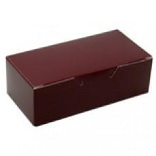1/2 lb Burgundy Box