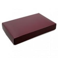 1/2lb Burgundy Box