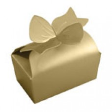 Gold Bow Box 2 Chocolate