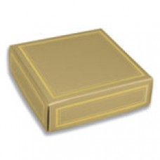 Gold Box with Gold Lines 3oz