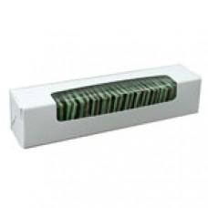White Box with Window 6 Chocolate