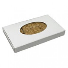 1lb White Box with Oval Window