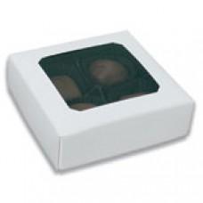 3oz White Box with Window