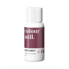 Burgundy Food Coloring - colour mill.