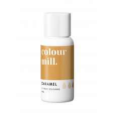 Caramel Food Coloring - colour mill.