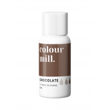 Chocolate Food Coloring - colour mill.