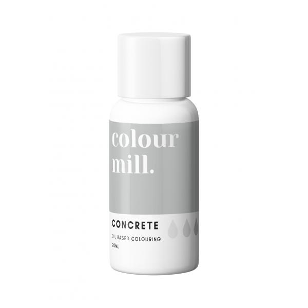 Concrete Food Coloring - colour mill.