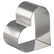 """Heart Mousse Ring 7"""" x 1 3/4"""" (45mm)h"""