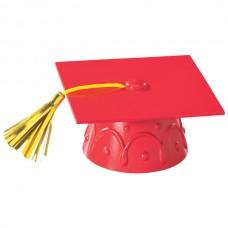 Red Grad Hat