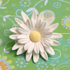 Double Petal Daisies - Large - White