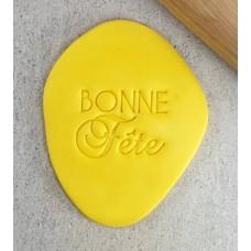 """""""Bonne Fête"""" Embosser"""