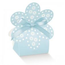 Flower Blue Baby Box