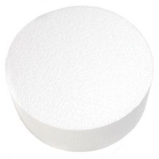 """Round Styrofoam 12""""x3""""h"""
