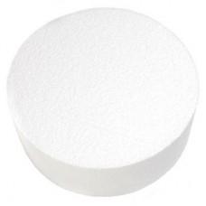 """Round Styrofoam 10""""x4""""h"""