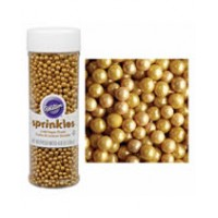 Gold Sugar Pearls