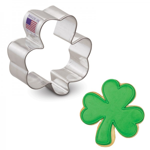 Small Shamrock Cookie Cutter