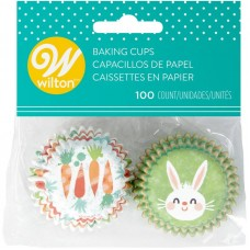 Bunny and Carrot Mini Cupcake Liners