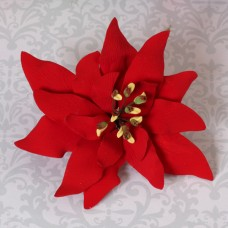 Poinsettias - Large - Red