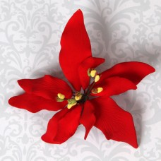 Poinsettias - Small - Red