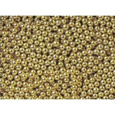 4mm Gold Pearls 1kg
