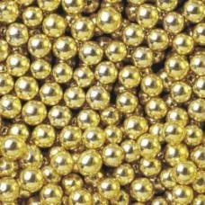 6mm Gold Pearls 1kg