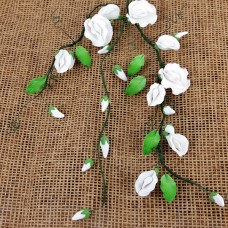 Long Stem Sweet Pea Fillers - White