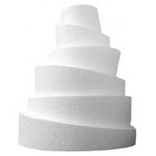 """Round Topsy-Turvy Styrofoam 10"""""""