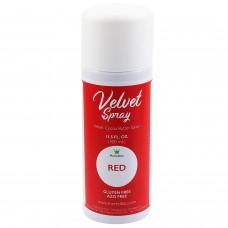 Velvet Spray Red