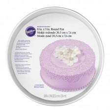 """Round Wilton Cake Mold 8""""x3"""""""